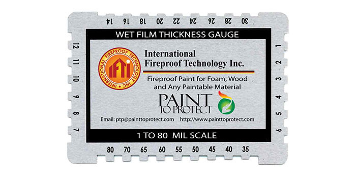 Learn How to Measure the Wet Film Thickness of IFTI's Fire Protective Coatings