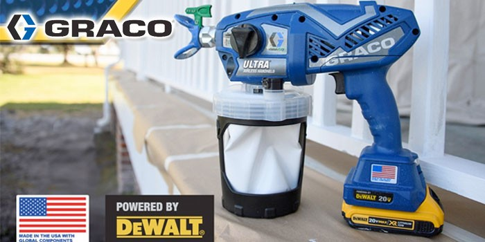 Graco Launches Ultra® and Ultra® MAX Professional Airless Handheld Sprayers