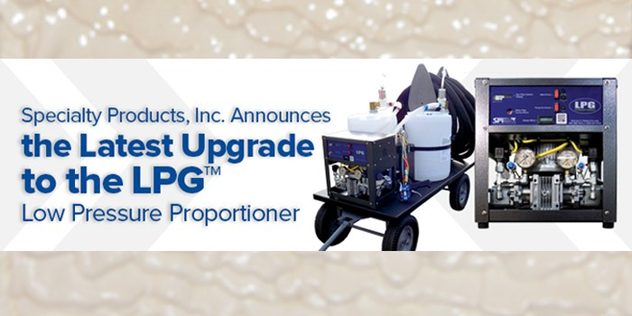 Specialty Products, Inc. Announces the Latest Upgrade to the LPG Low Pressure Proportioner