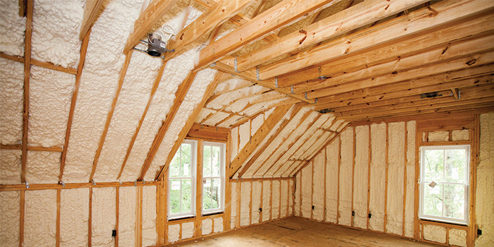 Maximizing the Benefits of Spray Foam in High Performance Homes