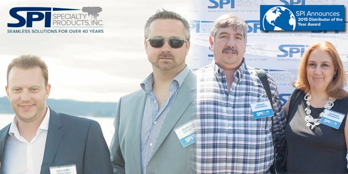 SPI Announces 2015 Distributor of the Year Award