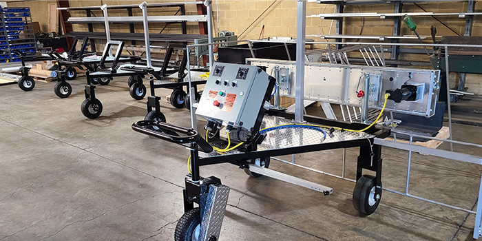 SprayWorks Equipment Group Facilitates In-House Fabrication