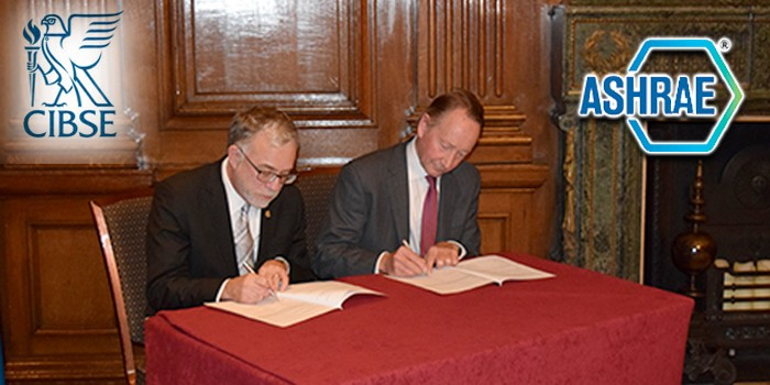 CIBSE and ASHRAE Mark 40th Anniversary with Historic Agreement