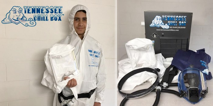 Tennessee Chill Box Launches Cool-Breeze Chill Suit