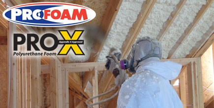 New High Yield AC377 Appendix X Approved Spray Foam