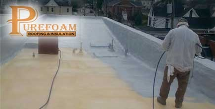 Spray Polyurethane Foam Roof Provides Facelift For Historic Kentucky  Building