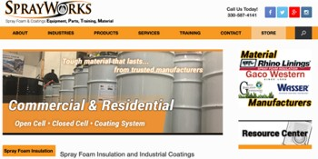 SPF Equipment Company Now Offering Material Section