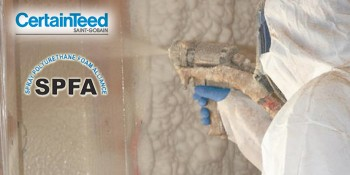 Spray Polyurethane Foam Alliance Recognizes CertainTeed Insulation with Supplier Company Accreditation