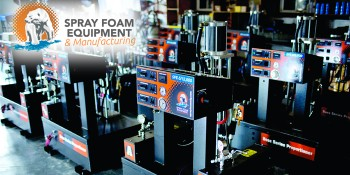 Spray Foam Equipment & Manufacturing Discusses Key Components of High-Performance Proportioner Design