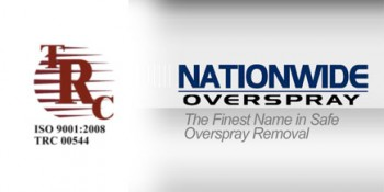 Nationwide Overspray's ISO Certification Reflects Quality Customers Expect