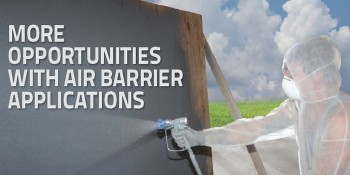 SFS Discusses Opportunities with Air Barrier Applications
