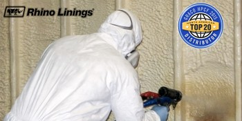 Rhino Linings Recognized as a Top Distributor of Graco Polyurea and Spray Polyurethane Foam Equipment