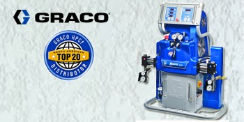 Graco Announces the Top 20 Industrial Coatings and Foam Distributors