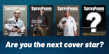 Entry Open to Become Spray Foam Contractor of 2021