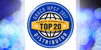 Graco Announces its Top 20 High Performance Coatings and Foam Distributors