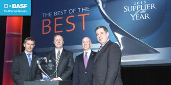 BASF named a General Motors Supplier of the Year