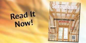 Spray Foam Magazine Highlights Performance, Excellence