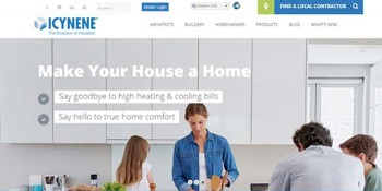 Icynene Launches New Look, Customer-centric Website