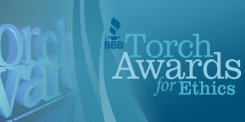 Wedge Roofing Wins Better Business Bureau Torch Award for Ethics