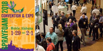 The Sprayfoam Show 2018 Convention & Expo to Bring Industry Together in Alabama