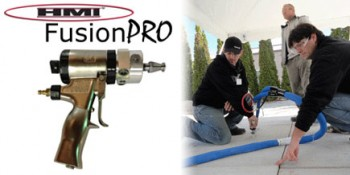 HMI Announces New Fusion Gun Front-End Replacement for Polyurethane Concrete Lifting