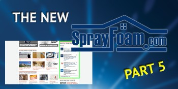 Getting to Know the New SprayFoam.com, Part 5: Social Media
