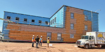 Canada's Largest Passive House Retrofit Project Uses Elastochem's Spray Foam with Solstice® LBA