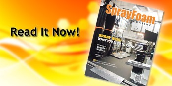 March/April 2016 Spray Foam Magazine Is Now Available