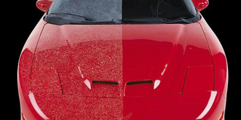 Save the High Cost of Re-Painting Vehicles Pitted by Overspray