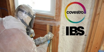 Covestro Speakers to Present Spray Foam Educational Session at the 2016 International Builders' Show