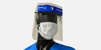 Defense Company Produces Face Shields As A Response to Spike in COVID