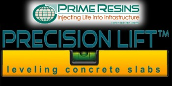 Prime Resins Announces New Concrete Slab Lifting System For Foam