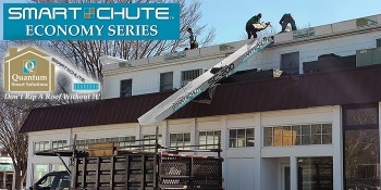 "The Revolutionary ""Smart Chute"" Roofing/Construction Debris Removal System"