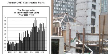 January Construction Starts Jump 12 Percent