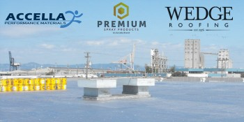 Premium Spray Products - An Accella Brand - Congratulates Wedge Roofing On Roofing Industry Awards