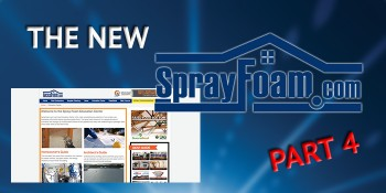Getting to Know the New SprayFoam.com, Part 4: Education Center, White Papers, and eBooks
