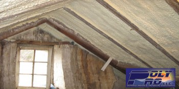 PolyPro, LLC Applies Spray Foam Insulation to Historical Home in Virginia