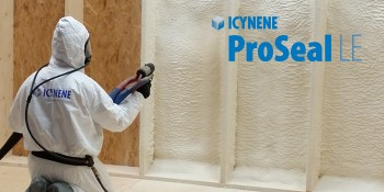 Icynene ProSeal LE: Efficiency In The Installation And In R-Value