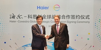 Covestro and Haier Sign Global Strategic Cooperation Agreement