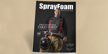 First Responder and Spray Foam Contractor Takes First
