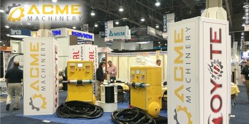 ACME Machinery Unveils New High Performance Spray Polyurethane Foam Proportioners