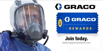 Graco's Applied Fluid Technology Division Introduces Rewards Program and New Products for the Spray Foam Industry
