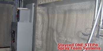 Staycell ONE STEP® Spray Polyurethane Foam Systems Eliminate Need for 15-minute Thermal Barriers for Most Applications