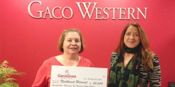 Gaco Western Provides 116,591 Meals Through Northwest Harvest