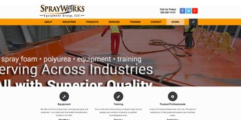 SprayWorks Launches New Website