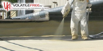 Volatile Free, Inc. Announces New Drone Video Featuring Spray Foam and Silicone Roofing Products