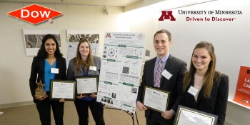 Project to Develop Recyclable Polyurethane Foam Wins $10K Dow Sustainability Innovation Student Challenge Award