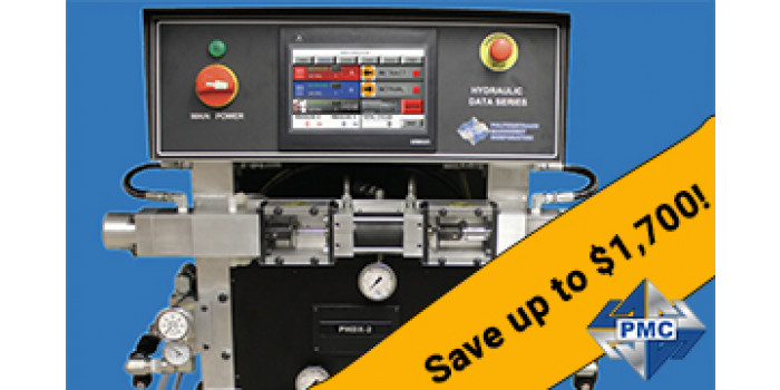 Save up to $1,700 on a new PMC PHD Smart Machine!