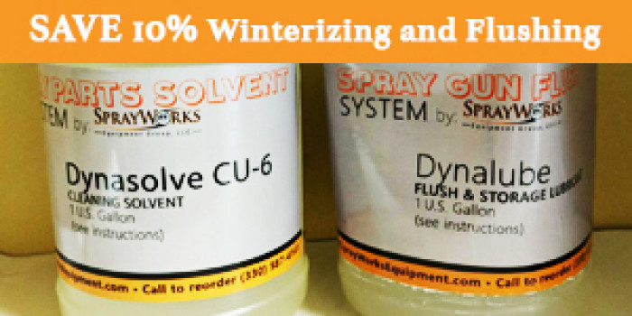 Sale on Cleaning & Flushing Solvents!