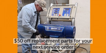 Service - $50 off replacement parts for your next service order